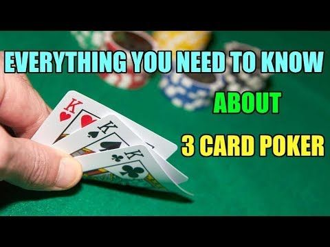 Don T Miss My All In One Guide To Three Card Poker And Learn How To Win Your Casino Poker Games With The Right Strategy In This Artic Casino Poker Poker Rules