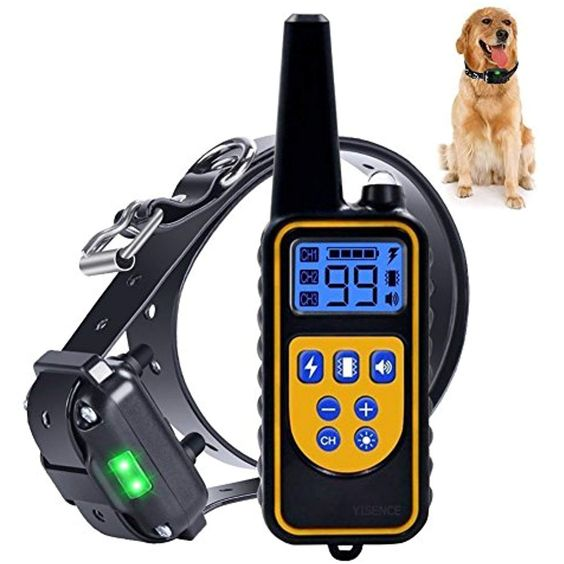 Dog Training Collar For Large Dog Or Small Dog With 2500ft Remote Control Dog Shock Collar Ipx7 Waterproof Aggressive Dog Dog Shock Collar Dog Training Collar