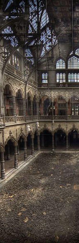 Abandoned  SO MANY VERY BEAUTIFUL BUILDINGS, PALACES,CHATEAUS & HOMES ARE ABANDONED !!  SO VERY BEAUTIFUL.