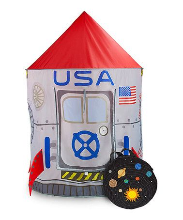 Another great find on #zulily! Space Adventure Roarin' Rocket Play Tent #zulilyfinds