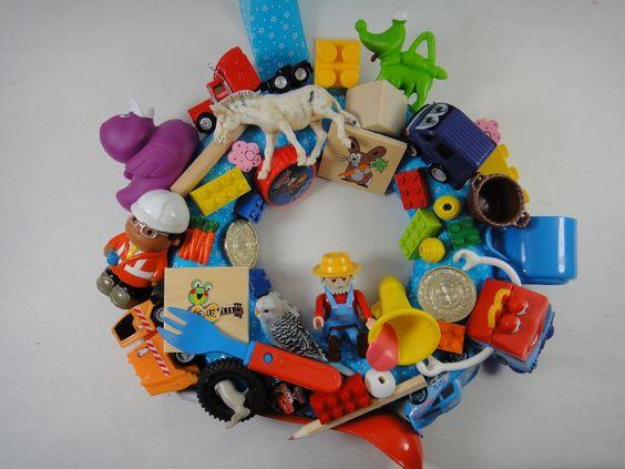DIY Spielzeugkranz