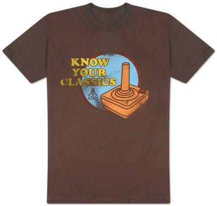 Atari - Know Your Classics T-Shirt Video Game