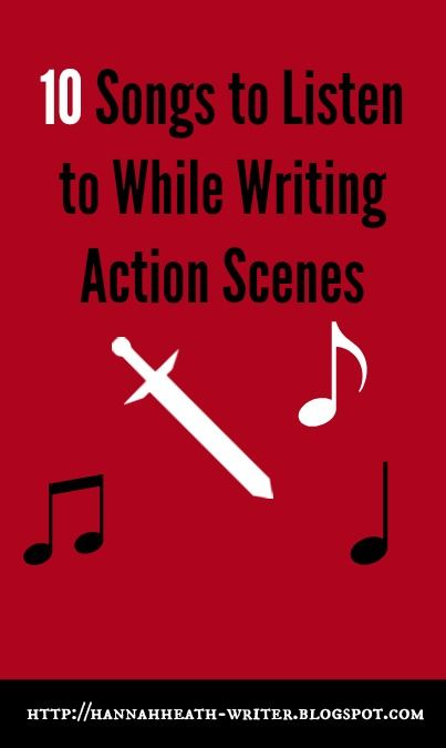 writing action sequences