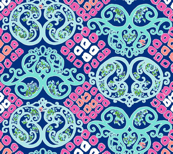 purple lilly pulitzer pattern google search crafts