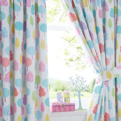 bluezoo Trees curtains | Debenhams