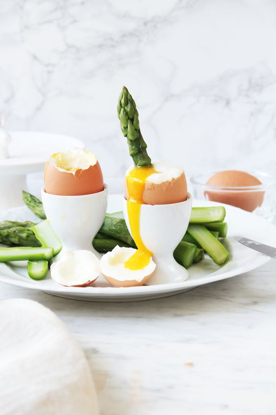 Soft-Boiled Eggs w/ Asparagus Soldiers – fork and flower: