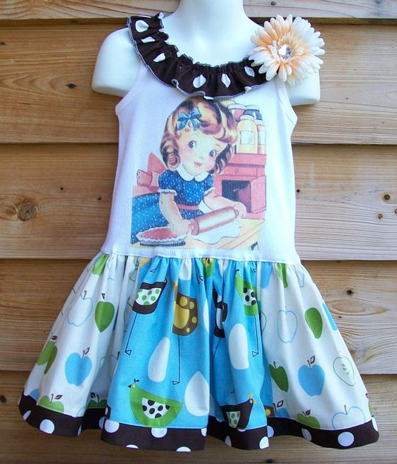 "Mommy""s Little Helper-- Tank Top Dress"