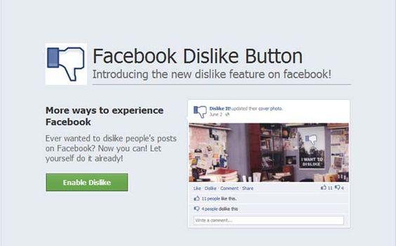 """O golpe """"Enable the Dislike Button"""" já atingiu 8 mil pessoas no Facebook e embora não se saiba se ele causa danos e quais seriam, com certeza não habilita nenhum botão """"Não Curti"""". Para quem """"ativou"""" o prometido recurso, é melhor, por precaução, se livrar dele. Saiba como fazer isto no IDG Now! ♦ por Renato Rodrigues ♦ http://bitly.com/Face-Dislike"""
