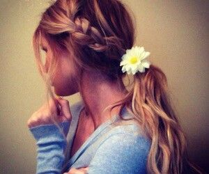 Make your piggie tail look cute with a hair  accessorie looks super #cute #love it