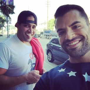 Mike and Shervin from Shahs of Sunset aren't related but look remarkably alike.