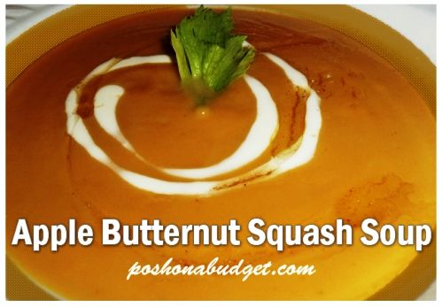 Apple Butternut Squash Soup Recipe | cooking/food recipes ...