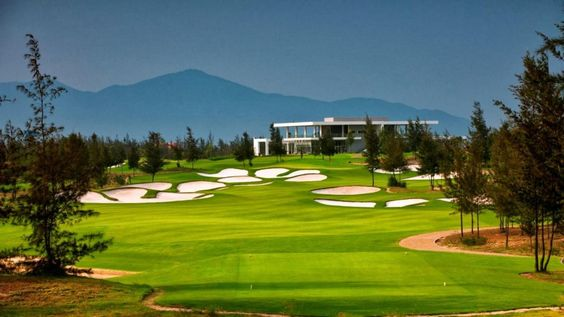 Located on the central #coast of Vietnam just South of Danang, Montgomerie Links has been ranked third in the Top 10 #golf #courses in #Asia in Startle.com, a site for golfers. From any point of the golf course, visitors can admire the East #Sea and Marble #Mountains.