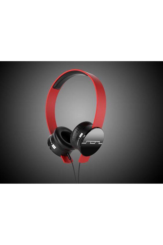 Tracks Red Headphones