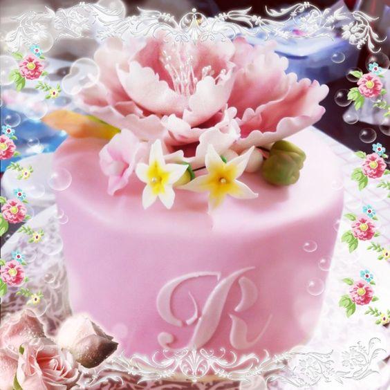 Happy Birthday Becki Cake