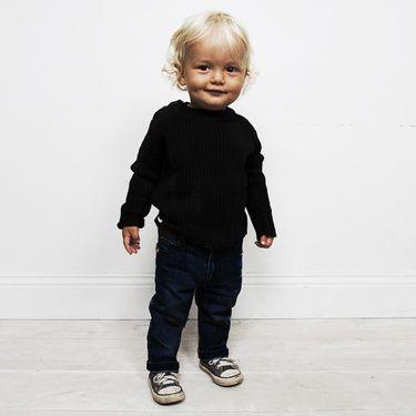 mini rodini - bristol baby blue rinse wash jeans.