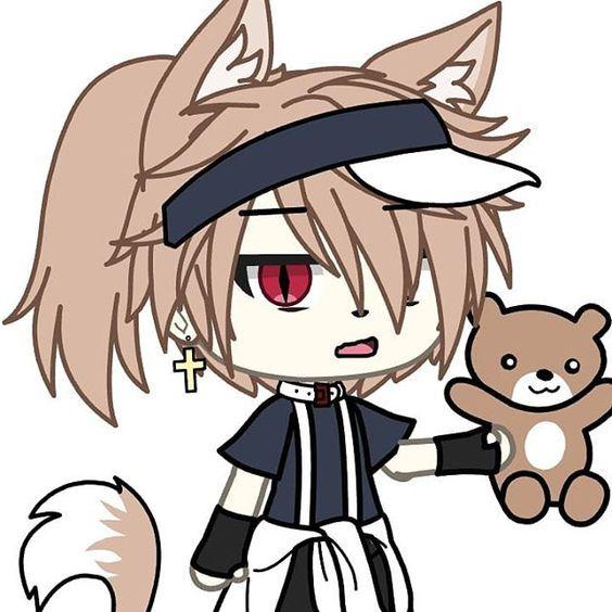 Pin By Strawberry Sofie On My Gacha Ocs Cute Anime Character Anime Wolf Girl Cute Anime Chibi