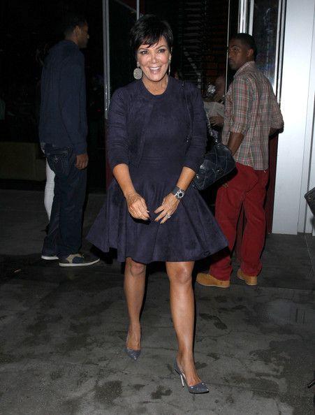 Kris Jenner Photo - Kris Jenner Dines Out At BOA Steakhouse