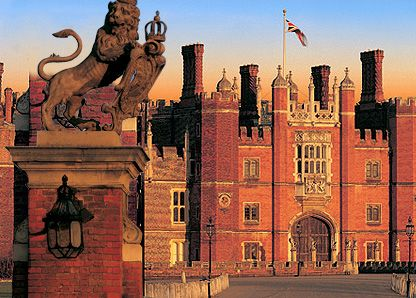 Hampton Court Palace. Very eerie feeling walking through rooms where Henry VIII, Anne Boleyn, Jane Seymour, etc. lived