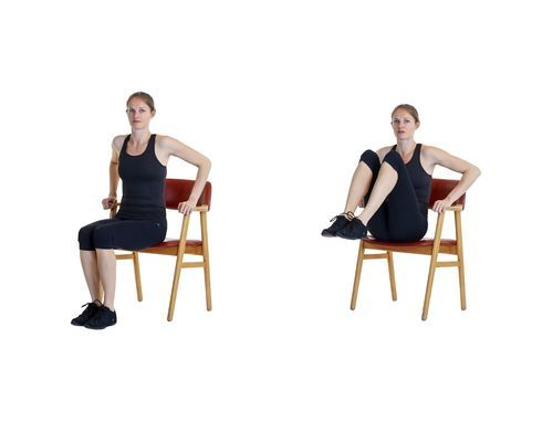 11 Quick Chair Exercises That Work As Well As Going To The Gym Workout Routines For Women Leg Lifts Workout Plan For Women