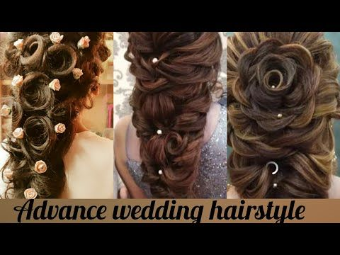 Advance New Wedding Hairstyle Step By Step Bridal Hairstyle Youtube In 2020 Long Hair Styles Hair Styles Step By Step Hairstyles