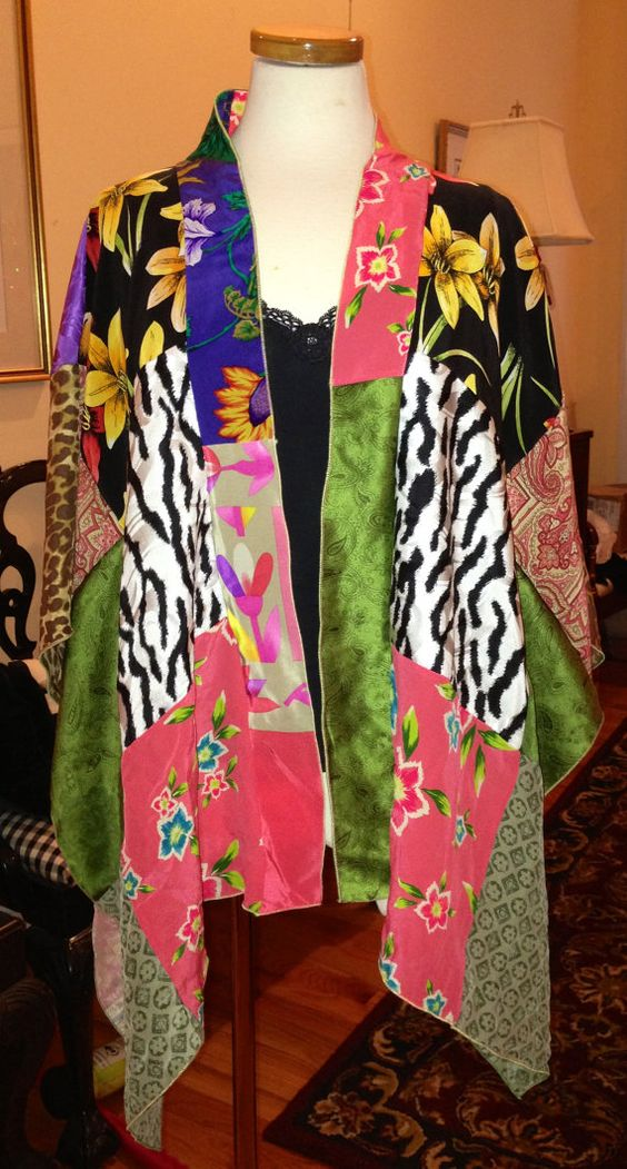 Serger+Sewing+Instructions+for+Kimono+Shawl+by+karenkaymoore,+$6.00