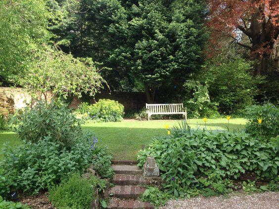 Quebec house garden