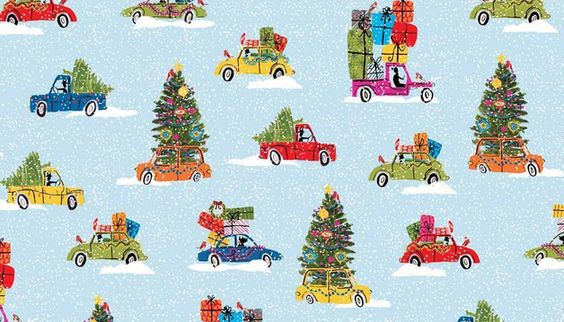 Schöner Weihnachtsstoff