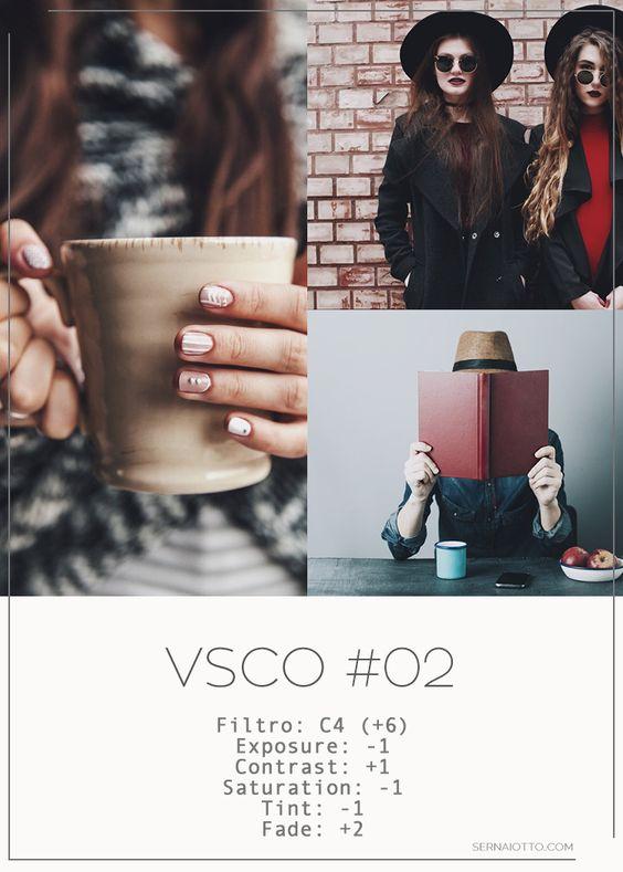 VSCO: 4 filtros e efeitos para copiar http://sernaiotto.com/2016/10/13/vsco-4-filtros-para-copiar/: