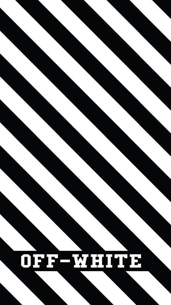 OFF-WHITEの斜めストライプ