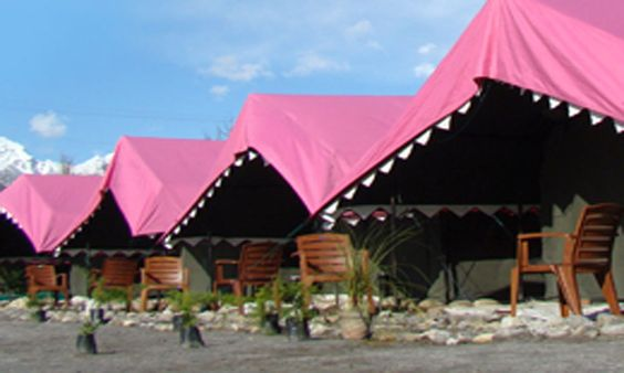 Our Accommodation in Swiss tents, it will be a great experience for you.