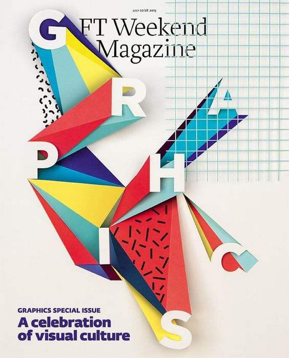 Financial Times Weekend Magazine: Special Graphics Issue (sneak preview cover design!)
