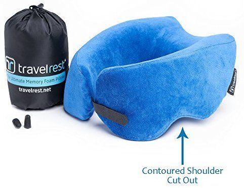 Travel Ultimate Memory Foam Neck Pillow