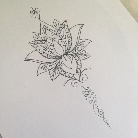 Flor De Lotus Mais De 70 Modelos De Desenhos Tatuagens Ideias Tatuagem De Hippie Tatuagem De Lotus Tatuagem