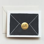 'Hello' Letter Card