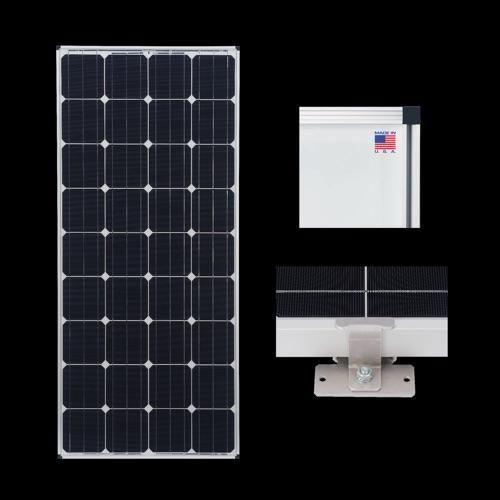 Zamp 170 Watt Deluxe Solar Expansion Kit Solar Panels Best Solar Panels Solar Panel Installation