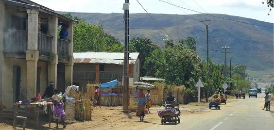 Straßenleben in Madagaskar