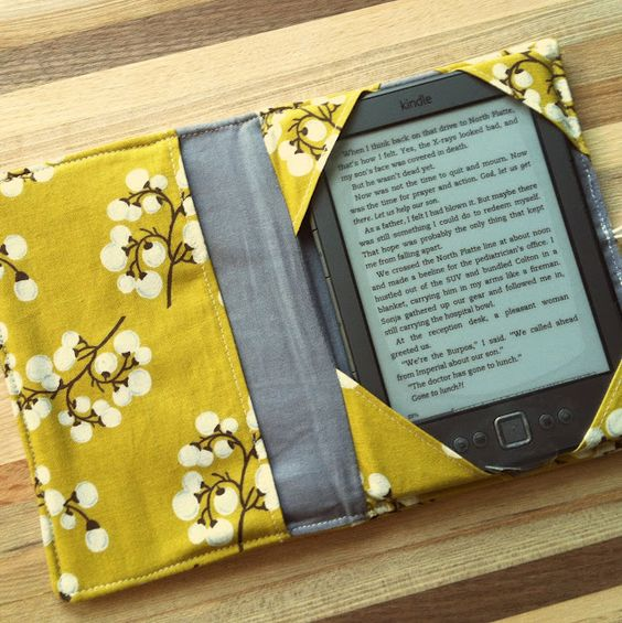 MD School Mrs.: Halfway Done: DIY Fabric Kindle Case