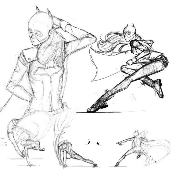 Batgirl by scribblespree