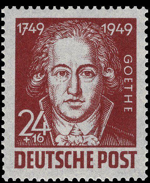 Sowjetische Besatzungszone 1949 200 Geburtstag Johann Wolfgang
