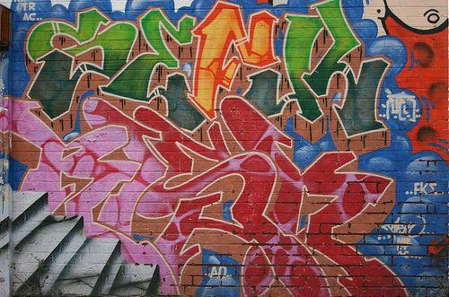 Graffiti. Art or vandalism