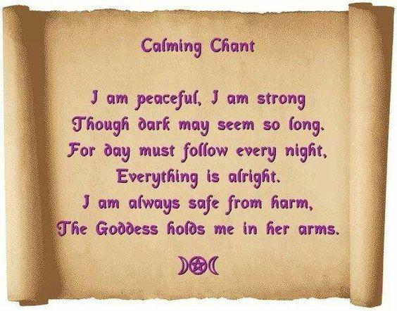 Calming Chant...