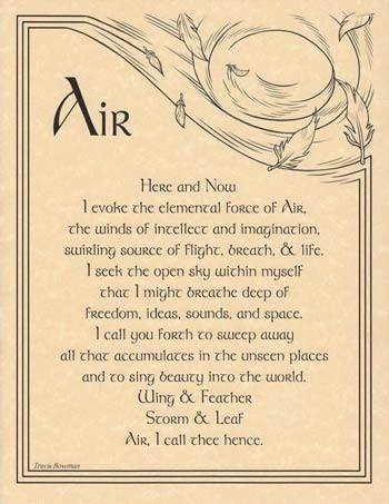 Air element: