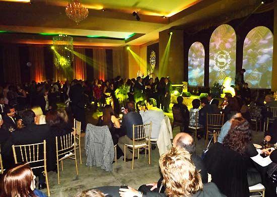 La terraza del Sheraton Lima fue escenario de la fiesta de gala.