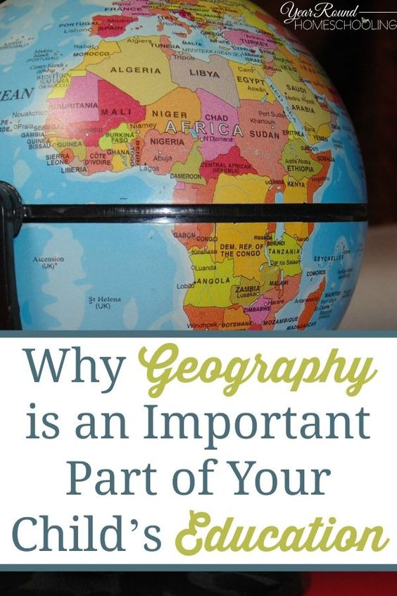 Geography is Important in Your Homeschool