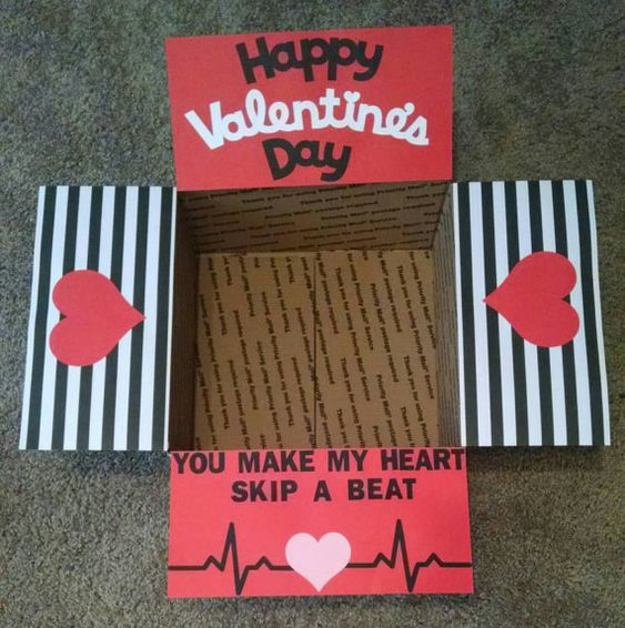 good valentines day gifts for boyfriend diy