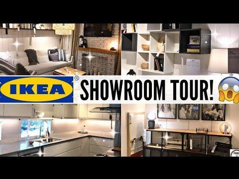 جولة في ايكيا منظمات المطبخ ديكورات المنازل أواني خزانات صالونات أفكار لتزيين المطبخ Ikea Kitchen Youtube Ikea Showroom Showroom Living Room Room Display