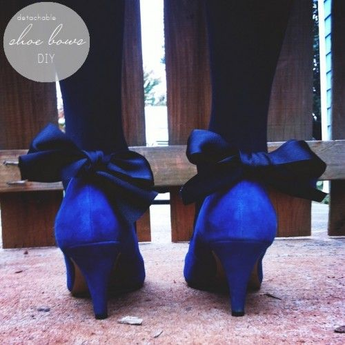 DIY - how to create bows for shoes