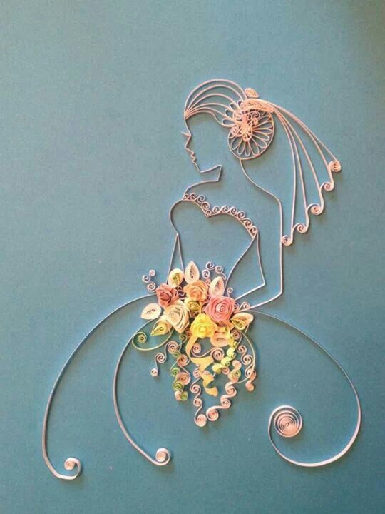 "bride quilling ""inspiration"":"