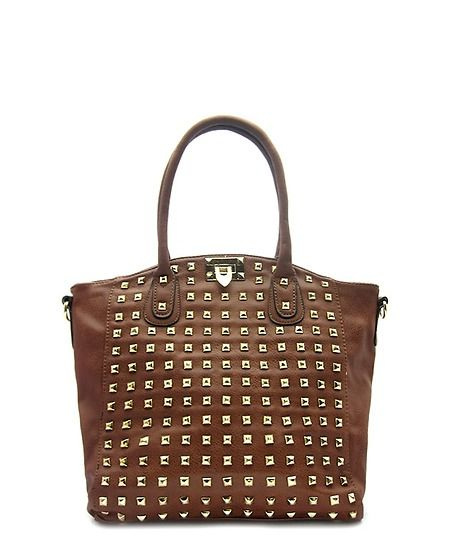 COB & PEN Studded Fashion Tote Bag