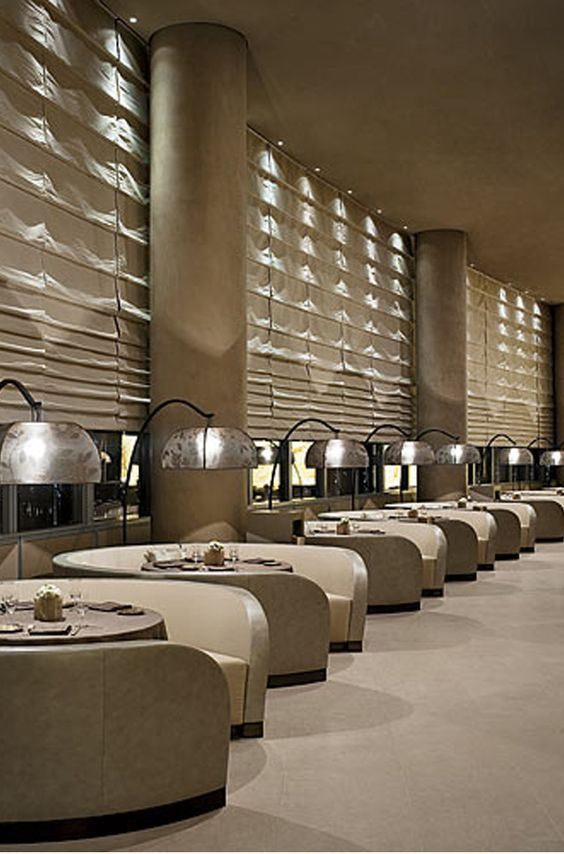 Restaurant armani hotel dubai by giorgio armani and for Armani hotel dubai design